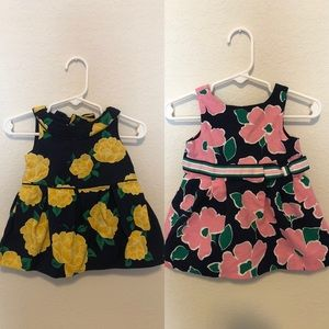 TWO Janie and Jack dresses